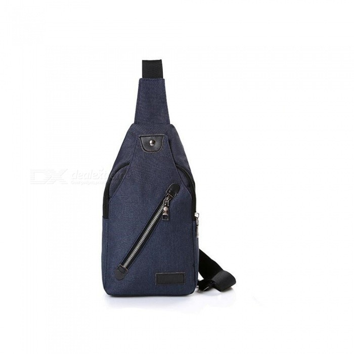 CTSmart 032 Outdoor Travel Stylish Casual Personality Messenger Bag - Dark Blue