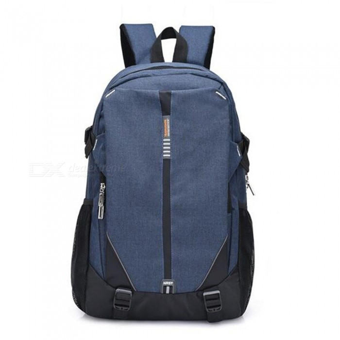 CTSmart 3012 Outdoor Mountaineering Travel USB Interface Outdoor Leisure Shoulder Bag - Blue