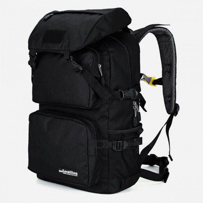 LOCAL LION 555 Multi-Function Outdoor Latest 36-55L Waterproof Hiking Backpack - BlackColorBlackBest UseClimbing,Rock Climbing,Backpacking,Camping,Mountaineering,TravelModel555Quantity1 DX.PCM.Model.AttributeModel.UnitMaterialPolyesterSizeOthersCapacityOthersCapacity Range40L~60LRaincover includedNoPacking List1 x Backpack<br>