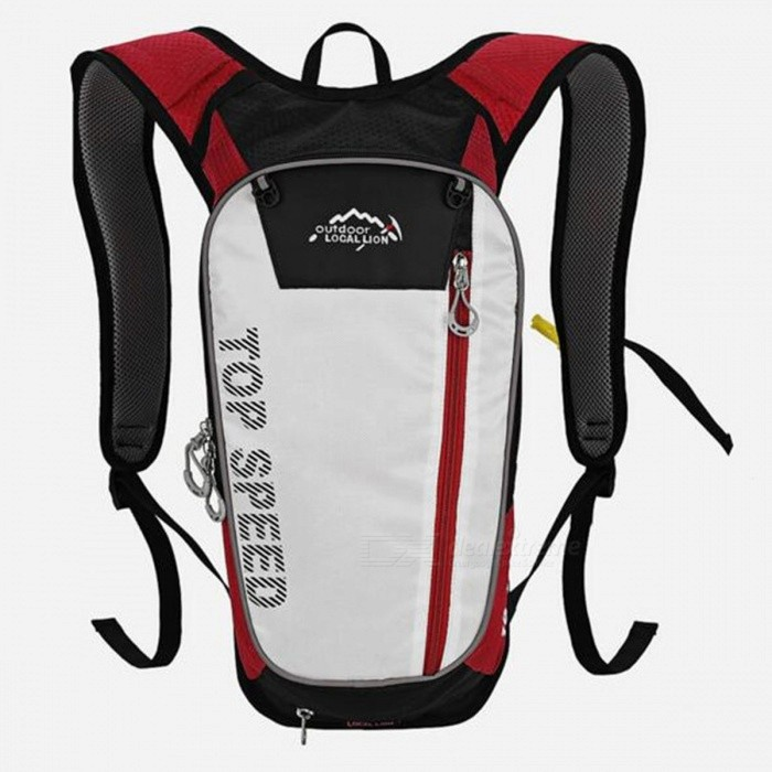 LOCAL LION 558 Multi-Function 20L Bike Mountaineering Hiking Sports Water Bag Backpack - RedColorRedBest UseClimbing,Rock Climbing,Family &amp; car camping,Backpacking,Camping,Mountaineering,TravelModel558Quantity1 DX.PCM.Model.AttributeModel.UnitMaterialPolyesterSizeOthersCapacity20LCapacity Range0L~20LRaincover includedNoPacking List1 x Water bag backpack<br>