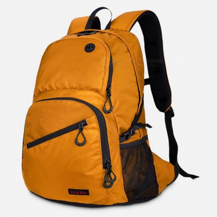 LOCAL LION 560 Multi-Function Outdoor 20L Capacity Waterproof Sports Shoulder Bag Backpack for Mountaineering Hiking - Yellow