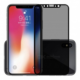 ASLING 3D arc edge anti-spion anti-peep gehard glazen scherm cover privacy screen protector voor IPHONE X