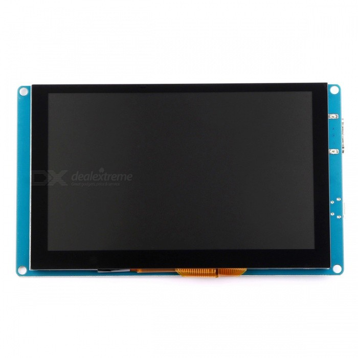5 Inches HDMI Capacitive Touch Screen (Driver free) for Pi, BB Black, PC, Mac BookLCD, LED Display Module<br>ColorBlueModel5 Inch 800x480 Capacitive Touch ScreenQuantity1 DX.PCM.Model.AttributeModel.UnitMaterialLCDScreen TypeCapacitive screenScreen Size5 DX.PCM.Model.AttributeModel.UnitResolution800 x 480Working Voltage   5 DX.PCM.Model.AttributeModel.UnitEnglish Manual / SpecNoDownload Link   http://wiki.52pi.com/index.php/5-Inch-800x480-Capacitive-Touch-Screen_SKU:_EP-0081Packing List1 x 5 Inches Capacitive HDMI Display<br>