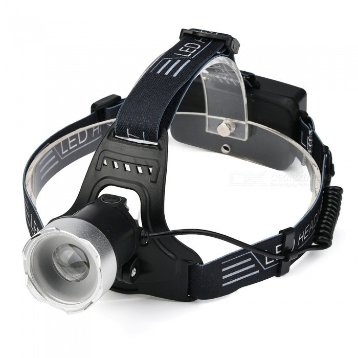 SPO XM-L2 Super Bright USB Charging Waterproof Headlamp for Night Running, FishingHeadlamps<br>ColorBlackModelH1Quantity1 setMaterialAluminum alloy + clothEmitter BrandCreeLED TypeXM-L2Emitter BINothers,L2Color BINWhiteNumber of Emitters1Working Voltage   3.7-4.2 VPower Supply2*18650Current3 ATheoretical Lumens800-1000 lumensActual Lumens800-1000 lumensRuntime4-6 hoursNumber of Modes2Mode ArrangementHi,Fast StrobeMode MemoryNoSwitch TypeClicky SwitchSwitch LocationHead TwistyLensGlassReflectorAluminum SmoothBand Length50 cmCompatible CircumferenceGeneralBeam Range100-150 mPacking List1 x Head lamp1 x USB cable<br>