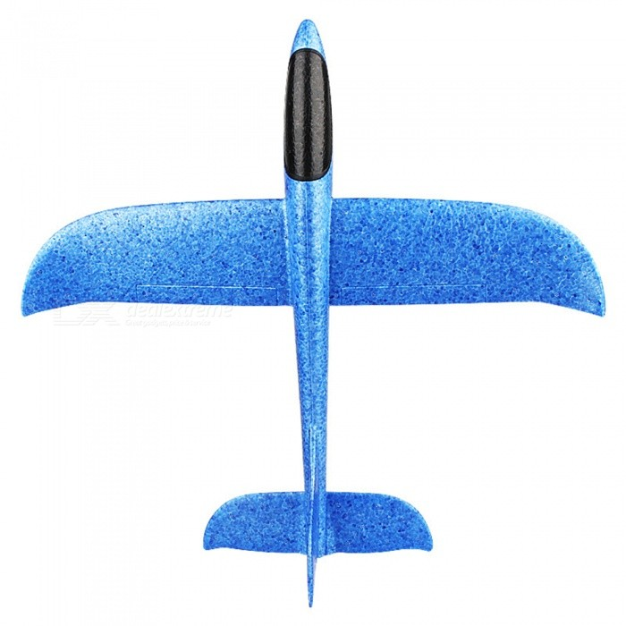 EPP Interactive Glider Model Fun Hand Throw Flying Plane Outdoor Toy for Children - BlueColorBlueForm  ColorBlueMaterialEPPQuantity1 pieceShade Of ColorBlueGyroscopeNoChannels QuanlityOthers,0 channelFunctionOthers,NORemote control frequencyOthers,NORemote TypeOthers,NORemote Control Range0 cmIndoor/OutdoorOutdoorSuitable Age 3-6 months,6-9 months,9-12 months,13-24 months,3-4 years,5-7 years,8-11 years,12-15 years,Grown upsCameraNoCamera PixelNoLamp NoBattery Capacity0 mAhBattery TypeLi-ion batteryCharging Time0 hourWorking Time0 hourModelOthers,NORemote Control TypeOthers,NORemote Controller Battery TypeOthers,NORemote Controller Battery Number0Packing List1 x DIY Toy Plane<br>