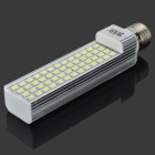 E27 13W 52-5050 SMD LED White Light Lamp Bulb (85~265V)