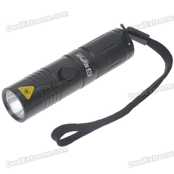 SIPIK HK23 1-CR123A 3-Mode 160-Lumen White LED Flashlight w/ Cree Q3-WC / Strap (1*CR123A)