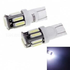 SENCART T10 5W White Light 6000K 400lm LED Car Clearance Lamp (2 PCS /DC 12V)