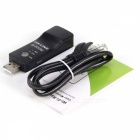 New 300Mbps Wi-Fi Wireless USB Signal Amplifier Repeater with AP Mode - Black