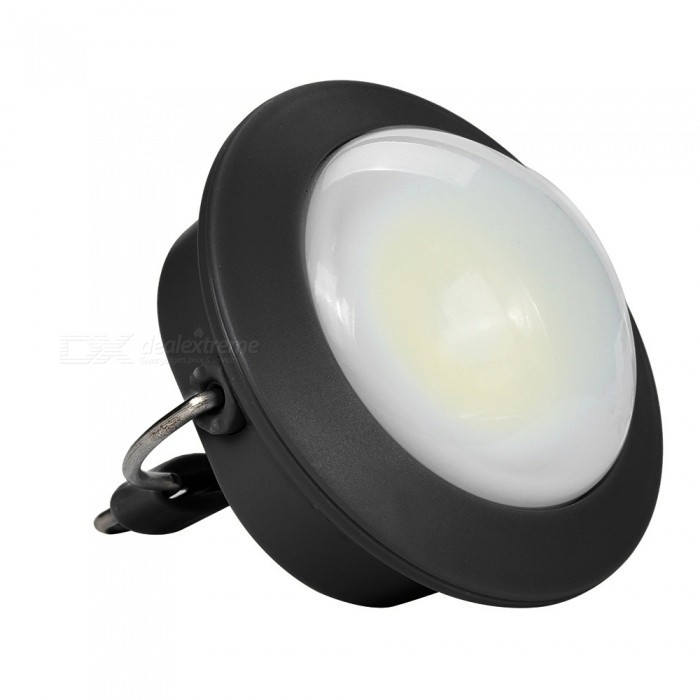 SPO Portable Small Tail Magetic Tent Lamp, Hanging Emergency Light for Outdoor Camping - BlackLED Keychains<br>ColorBlackModelw1Quantity1 DX.PCM.Model.AttributeModel.UnitMaterialABSShade Of ColorBlackNumber of Emitters1Light ColorWhitePower Supply3*AAAPacking List1 x Small light<br>