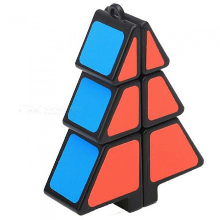 QiYi Speed Cube Christmas Tree Cube Finger Puzzle Christmas Gift - BlackMagic IQ Cubes<br>ColorBlackModelN/AMaterialABS PlasticQuantity1 pieceTypeOthers,Shaped RubikSuitable Age 3-4 years,5-7 years,8-11 years,12-15 years,Grown upsPacking List1 x Magic Cube<br>