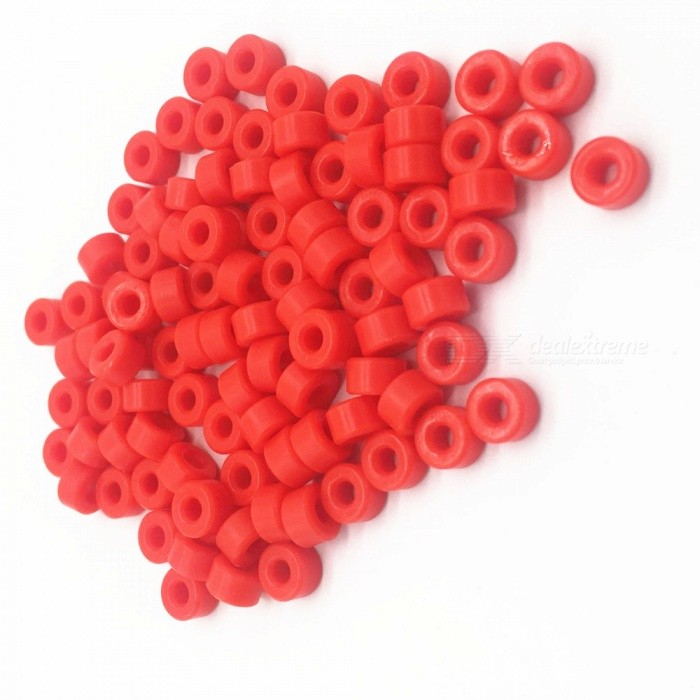 RXDZ Plastic Column Insulation Gasket Gasket Bracket Column Bracket - Red (1000PCS)DIY Parts &amp; Components<br>ColorRedQuantity1000 DX.PCM.Model.AttributeModel.UnitMaterialPlasticEnglish Manual / SpecNoCertificationNOPacking List1000 x Insulated Spacer Washers<br>