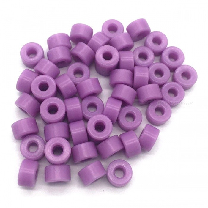 RXDZ Plastic Insulation Gasket Spacer Holder Post Holder - Light Purple (1000PCS)DIY Parts &amp; Components<br>ColorLight PurpleQuantity1000 DX.PCM.Model.AttributeModel.UnitMaterialPlasticEnglish Manual / SpecNoCertificationNOPacking List1000 x Insulated Spacer Washers<br>