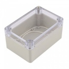 RXDZ Dustproof IP65 Clear Plastic Cover Electric Junction Box 100x68x50mm
