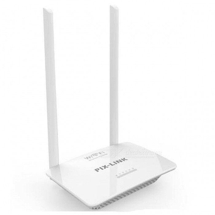 WR07 300Mbps High Speed Smart Wireless Wi-Fi Router ISP Network with High Power 5dBi Fixed Omni Directional AntennaRouters<br>ColorWhiteModelLV-WR07Quantity1 setMaterialABSShade Of ColorWhiteTypeRouterTransmission Rate300 MbpsUI LanguageEnglishSupport DD-WRTYesPacking List1 x Wireless-N Router 1 x Power Adapter 1 x Ethernet Cable1 x Quick Installation Guide<br>