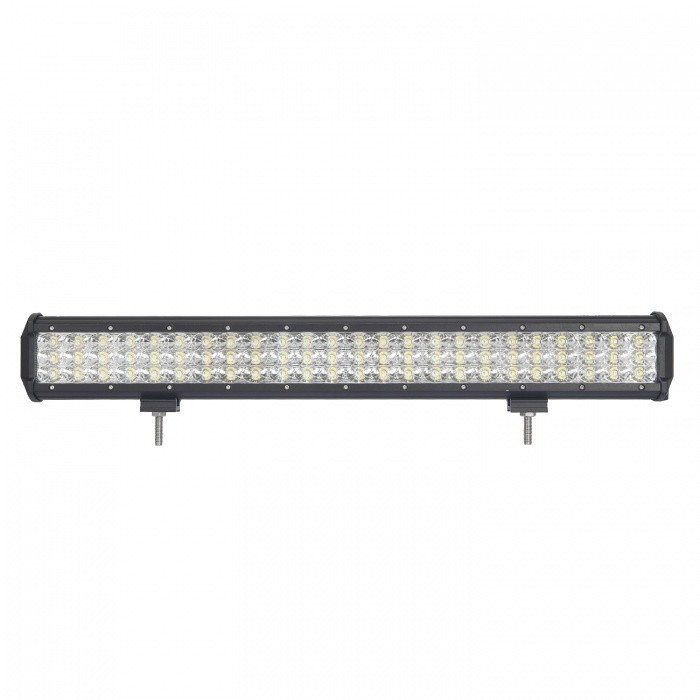 MZ 23 Inches Tri-Row 216W LED Work Light Bar Flood 21600LM for Off-roadDecorative Lights / Strip<br>Color BIN216W FLOODForm  ColorBlackEmitter TypeLEDChip BrandCreeChip TypeN/ATotal EmittersOthers,72PowerOthers,216WColor Temperature6000 KTheoretical Lumens25290 lumensActual Lumens21600 lumensRate Voltage10-30V DCWaterproof FunctionYesConnector TypeOthers,WiredApplicationHeadlamp,Foglight,Roof light,Daytime running lightModelTri-Row-216W-FQuantity1 pieceMaterialAluminumPacking List1 * LED Work Light<br>