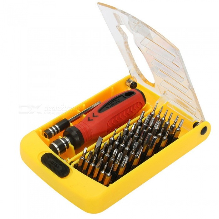 Dayspirit 6088A 38-in-1 Precision Screwdriver Set Repair Tool KitScrewdriver, Screwdriver Set<br>ColorMulticolor-6088AModel6088AQuantity1 DX.PCM.Model.AttributeModel.UnitMaterialMetalScrew Head TypeAll-in-OnePacking List1 x Repair Tool Kit (38pcs / 1Set)<br>