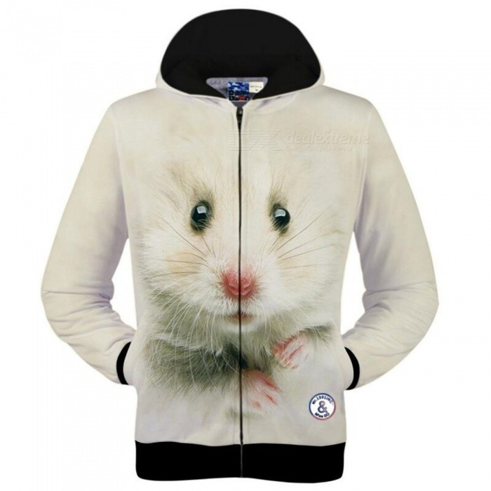 3D-01 Hooded Zipper Thermal Jacket, Sports Hoodie Mens Wear - Beige (2XL)Jackets and Coats<br>ColorBeigeSize2XLModel01Quantity1 pieceShade Of ColorWhiteMaterialPolyesterStyleSportsTop FlyZipperShoulder Width45 cmChest Girth104 cmWaist Girth104 cmSleeve Length62 cmTotal Length66 cmSuitable for Height165 cmPacking List1 x Clothes<br>