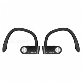 Awei T2 Invisible True Wireless Stereo Noise Cancelling Mini TWS Bluetooth Earphone with Microphone - Black