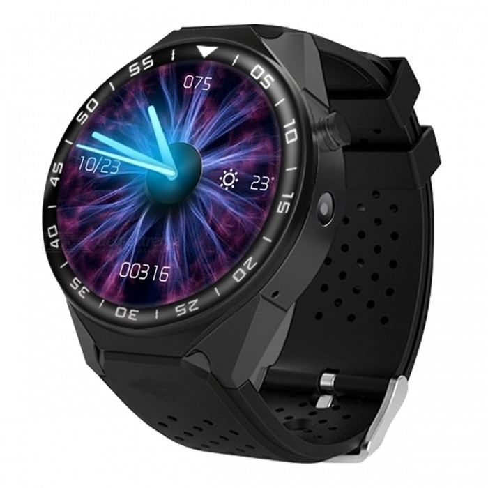 ZGPAX S99C 1.39 AMOLED 3G Android Watch Phone with Heart Rate Monitoring, Pedometer, Wi-FiSmart Watches<br>ColorBlackModelS99CQuantity1 DX.PCM.Model.AttributeModel.UnitMaterialAluminum alloy + Silica gelCPU ProcessorCPU: MTK6580 quad-coreScreen Size1.39 DX.PCM.Model.AttributeModel.UnitScreen Resolution400*400Touch Screen TypeAMOLEDNetwork Type2G,3GCellularWCDMA,GSMSIM Card TypeNano SIMBluetooth VersionBluetooth V4.0Operating SystemAndroid 5.1Compatible OSIOS+AndroidLanguageChinese, Japanese, Indonesian, German, English, Spanish, French, Italian, Polish, Portuguese, Vietnamese, Turkish, Russian, Arabic, Persian, Hindi, Bengali, Thai, Burmese, KoreanWristband Length27.5 DX.PCM.Model.AttributeModel.UnitWater-proofOthers,IP54Battery ModeNon-removableBattery TypeLi-polymer batteryBattery Capacity400 DX.PCM.Model.AttributeModel.UnitStandby Time72 DX.PCM.Model.AttributeModel.UnitPacking List1 x Smart Watch 1 x Charging Cable 1 x Manual<br>