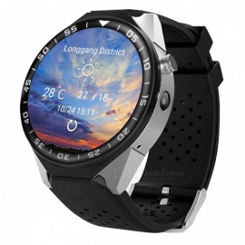 "ZGPAX S99C 1.39"" AMOLED 3G Android Watch Phone with Heart Rate Monitoring, Pedometer, Wi-Fi"