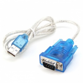USB to VGA 9-Pin Serial Line - Blue