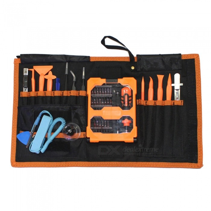 50 In-1 Pro Tech Base Tool Almighty Maintenance Work Package Crowbar ScrewdriverOther Tools<br>ColorOrangeQuantity1 DX.PCM.Model.AttributeModel.UnitMaterialMetalPacking List1 x Tools<br>