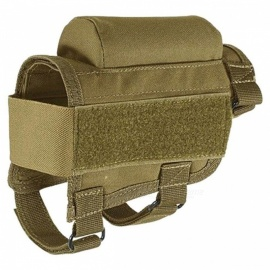 HONEST Tactical Crown Cheek Rest with Carrier Carrying Case Ammunition for. 300. 308 Winmag - Khaki