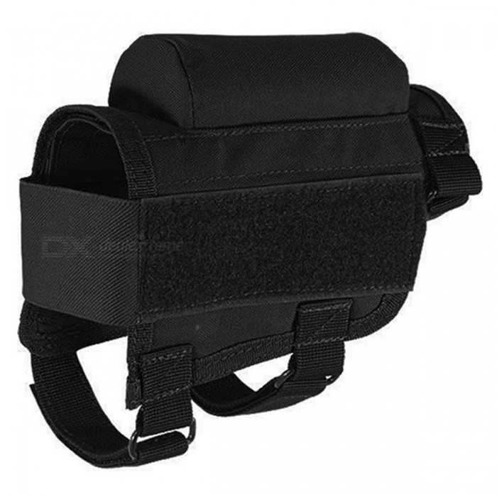 HONEST Tactical Crown Cheek Rest with Carrier Carrying Case Ammunition for. 300. 308 Winmag - Black
