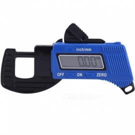 ZHAOYAO 0-12mm Portable LCD Digital Thickness Gauge Micrometer Tester Tool