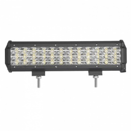 MZ 12 Inches Tri-Row 108W LED Work Light Bar Spot 10800LM for Off-road