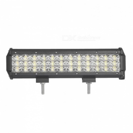 MZ 12 Inches Tri-Row 108W LED Work Light Bar Flood 10800LM for Off-road