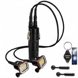 ARCHON DH150W WH156W CREE XM-L2 U2 32-LED Video Light, 30000 Lumen 150m Underwater Diving Torch