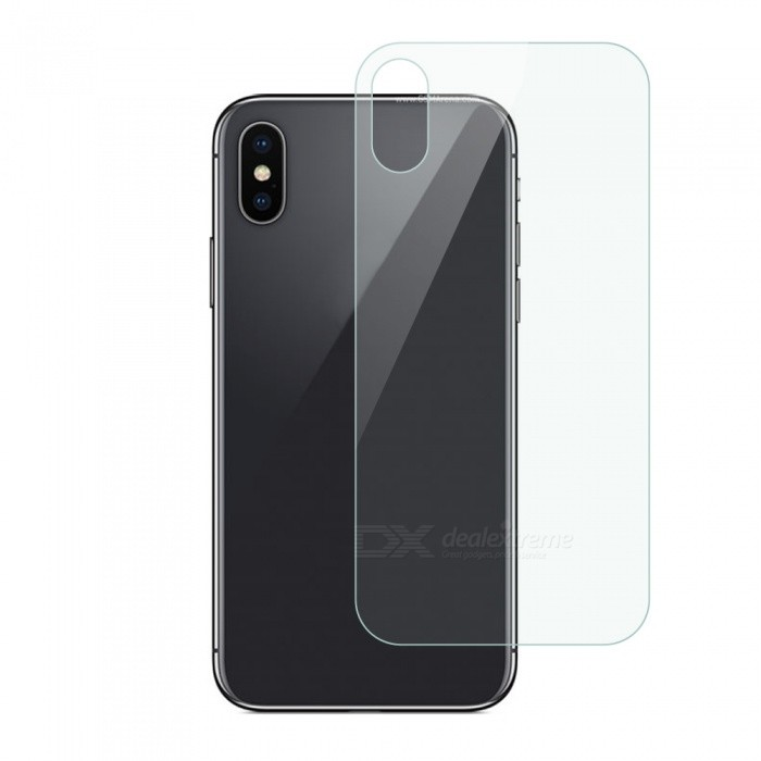 Dayspirit Back Tempered Glass Screen Protector Film for IPHONE XScreen Protectors<br>ColorTransparentModelN/AMaterialTempered glassQuantity1 setCompatible ModelsIPHONE XFeaturesTempered glassPacking List1 x Back Tempered glass1 x Dust cleaning film 1 x Alcohol prep pad<br>
