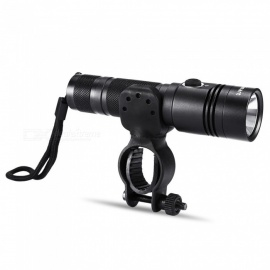 CTSmart G4 Outdoor Waterproof Aluminum Straight Light Riding Lamp - Black