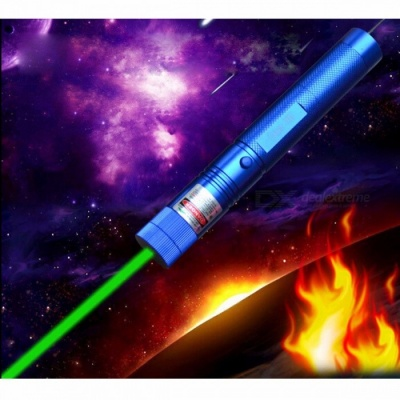 Green Laser Pointer 532nm 100000mw Flashlight Lazer Burning SD Lasers 303 Presenter Burn Matches, Light Cigarette, Safe Key picture color