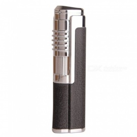 HONEST Metal Torch Jet Lighter, Windproof Gas Lighter - Black