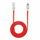 Baseus lightning to usb fast charging charger cable for iphone 8 / 8s / x / ipad + more - 100cm/red