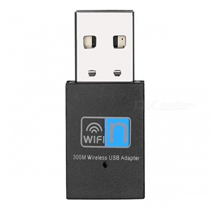 Mini Wi-Fi Receiver, 300Mbps Wireless USB Adapter, Network CardNetwork Cards<br>ColorBlackModelLV-UW03Quantity1 setMaterialABSShade Of ColorBlackInterfaceUSB 2.0Transmission Rate300 MbpsAntennaNoPacking List1 x PIX - LINK LV - UW03 300Mbps Wireless Network Card1 x CD<br>