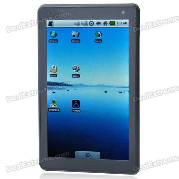 7 Touch Screen LCD Google Android 2.1 Tablet PC w/ WiFi/Camera/HDMI/TF (Telechips 8900/499.71MHz) taifeng 7 tf 7901 touch screen handwritten screen capacitance screen tablet fm700405ka