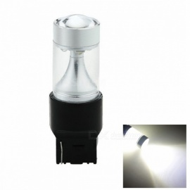 SENCART 7440 T20 W3X16D 40W White LED Car Steering Blub, Turn Signal Lamp Bulb