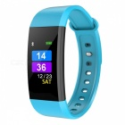 i9 Smart Bracelet IP68 Sports Watch Fitness Tracker with Pedometer, Heart Rate, Blood Pressure Monitoring - Blue