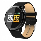 Q8 Smart Bracelet IP67 Waterproof Fitness Tracker Wrist Band with Real-time Heart Rate Monitoring - Black