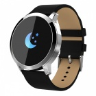 Q8 Smart Bracelet IP67 Waterproof Fitness Tracker Wrist Band with Real-time Heart Rate Monitoring - Silver