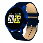 Q8 Smart Bracelet IP67 Waterproof Fitness Tracker Wrist Band with Real-time Heart Rate Monitoring - Blue