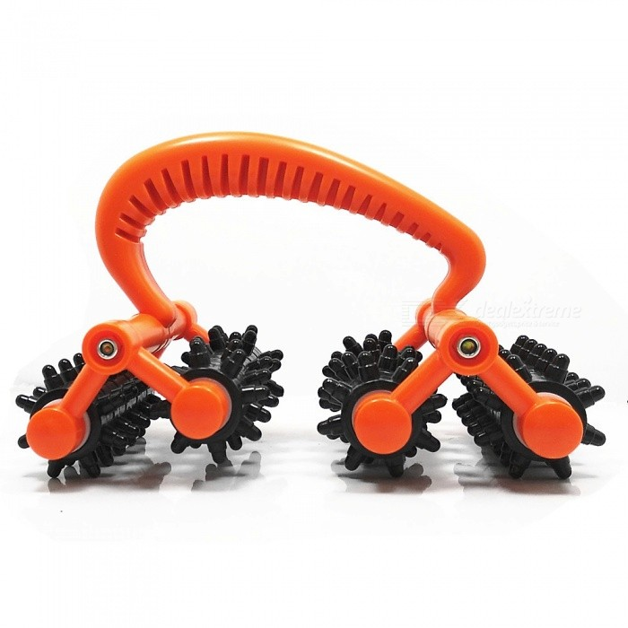 ABS Lunar Rover Roller Massager for Hands / Feet / Waist / BackRelax and Massagers<br>ColorRed + BlackMaterialABSQuantity1 pieceShade Of ColorRedMassager PartHands / Feet / Waist / BackPrinciple of MassageRoller MassageMassage ManipulationRoller massageControl ModeForward and BackwardNumber of Massage Heads20 piecesThermotherapy FunctionNoTiming FunctionNoDigital Strength ShowsNoBattery included or notNoPower SupplyOthers,noPower AdapterOthers,noPower0 WPacking List1 x Roller Massager<br>