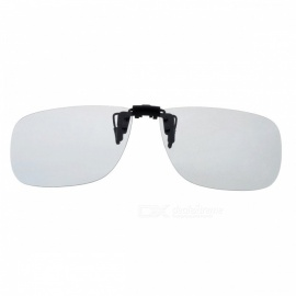 Cool Color Clip-on Polarized Sunglasses Lens - Grey