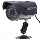 300K Pixels CMOS Outdoor Waterproof IP CCTV Camera with 24-IR LED Night-Vision