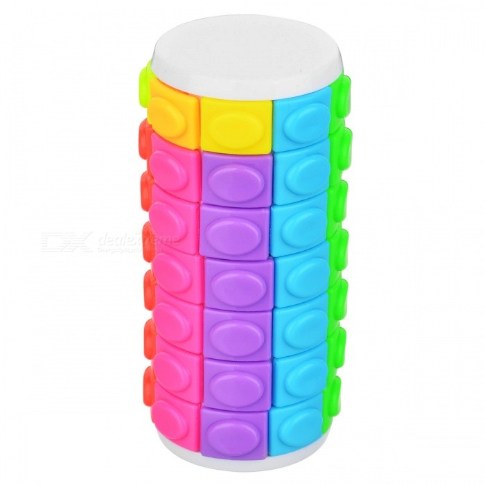 QiYi Rotate and Slide Puzzle Magic Finger Cube Cylindrical Puzzle Anxiety Stress Focus Kids Attention Fidget Toy GiftMagic IQ Cubes<br>ColorSeven layers of whiteModelN/AMaterialABS PlasticQuantity1 pieceType3x3x3,Others,5x5, 7x7Suitable Age 3-4 years,5-7 years,8-11 years,12-15 years,Grown upsPacking List1 x Magic Finger Cube 1 x User Manual<br>