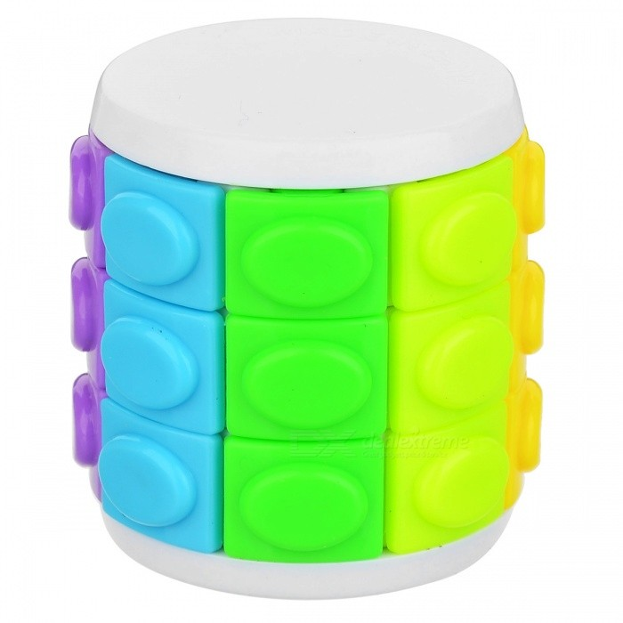 QiYi Rotate and Slide Puzzle Magic Finger Cube Cylindrical Puzzle Anxiety Stress Focus Kids Attention Fidget Toy GiftMagic IQ Cubes<br>ColorThree layers of whiteModelN/AMaterialABS + PlasticQuantity1 pieceType3x3x3,Others,5x5, 7x7Suitable Age 3-4 years,5-7 years,8-11 years,12-15 years,Grown upsPacking List1 x Magic Finger Cube 1 x User Manual<br>